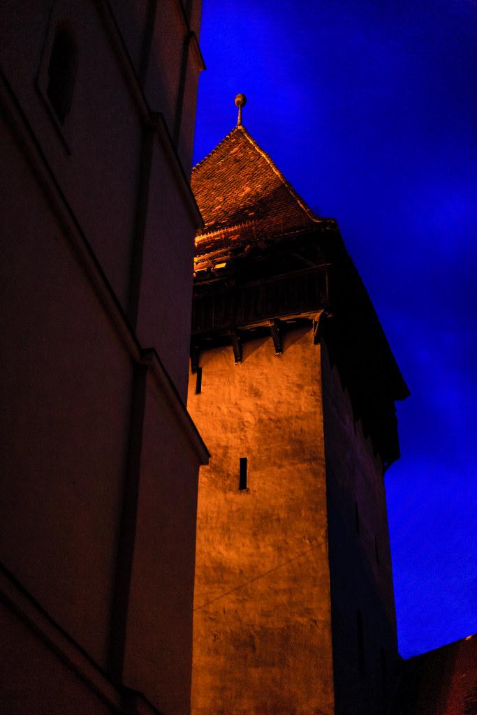 Defense tower