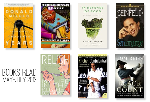 The B.Read List: May - July 2013