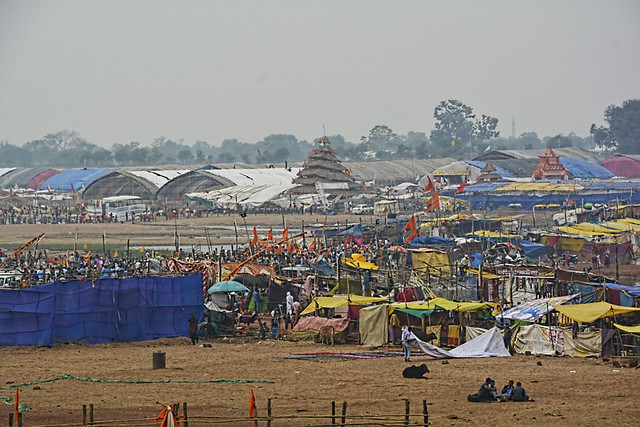 Rajim kumbh festival 2018 held at the confluence of Mahanadi, Sondur and Pairi rivers.