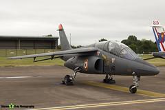 E115 705-MR - E115 - French Air Force - Dassault-Dornier Alpha Jet E - RIAT 2017 Fairford - Steven Gray - IMG_9068