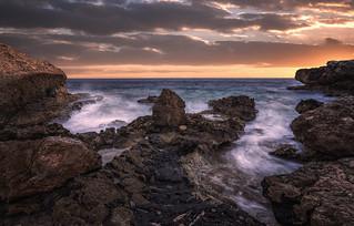 Curacao coastline