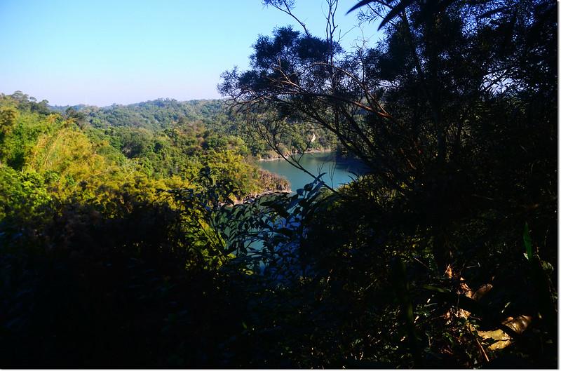 大山坑山登山途中俯瞰烏山頭水庫 1