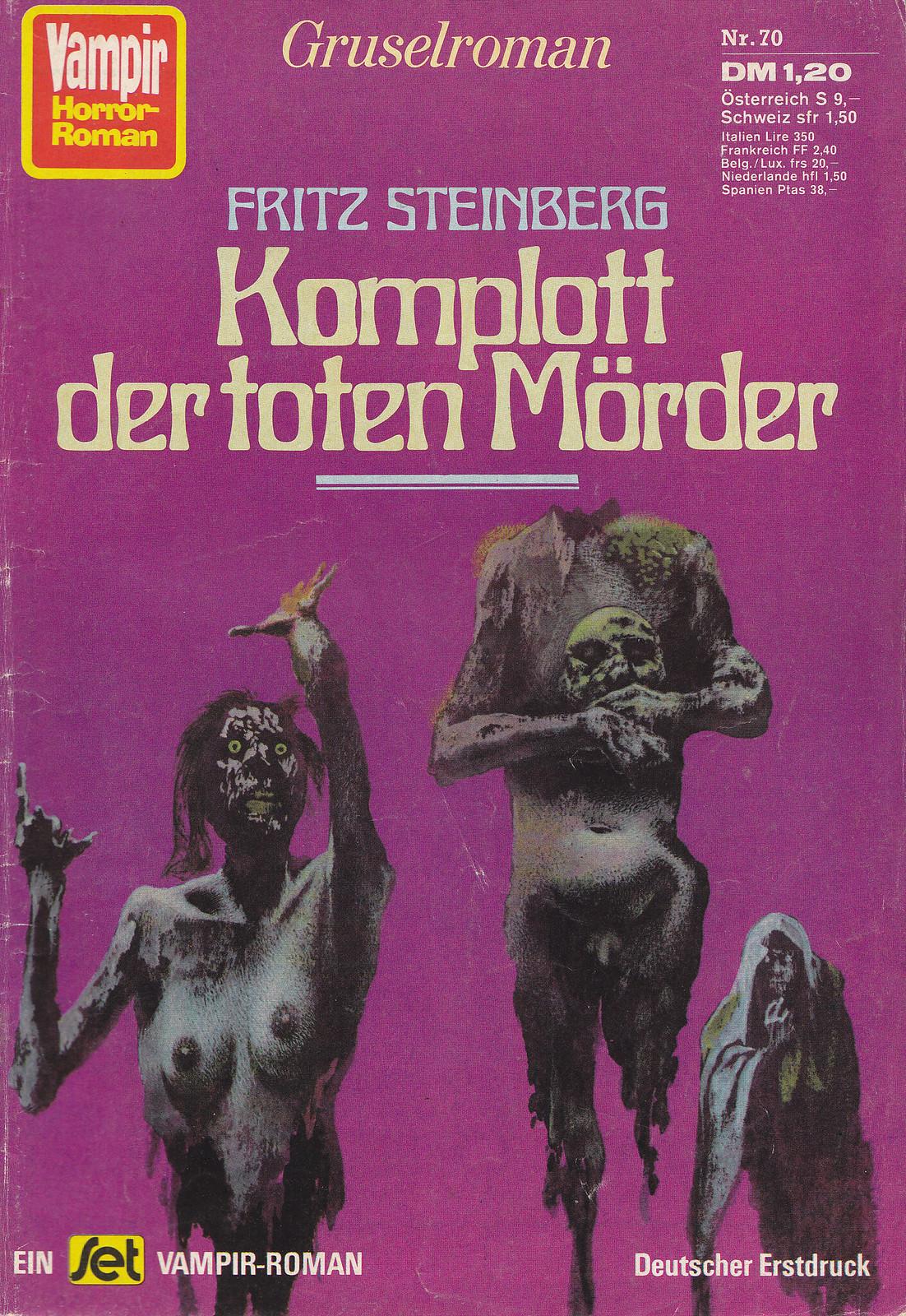 Karel Thole - Vampir Horror Roman - 070