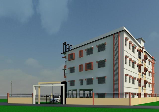 apartment-building revit