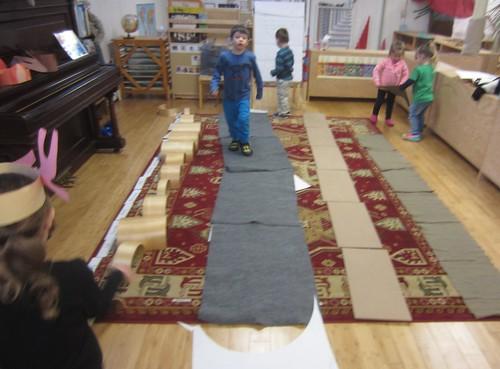 4 mats long