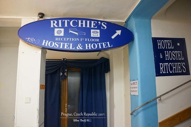 2017 Europe Prague Ritchie Hostel & Hotel