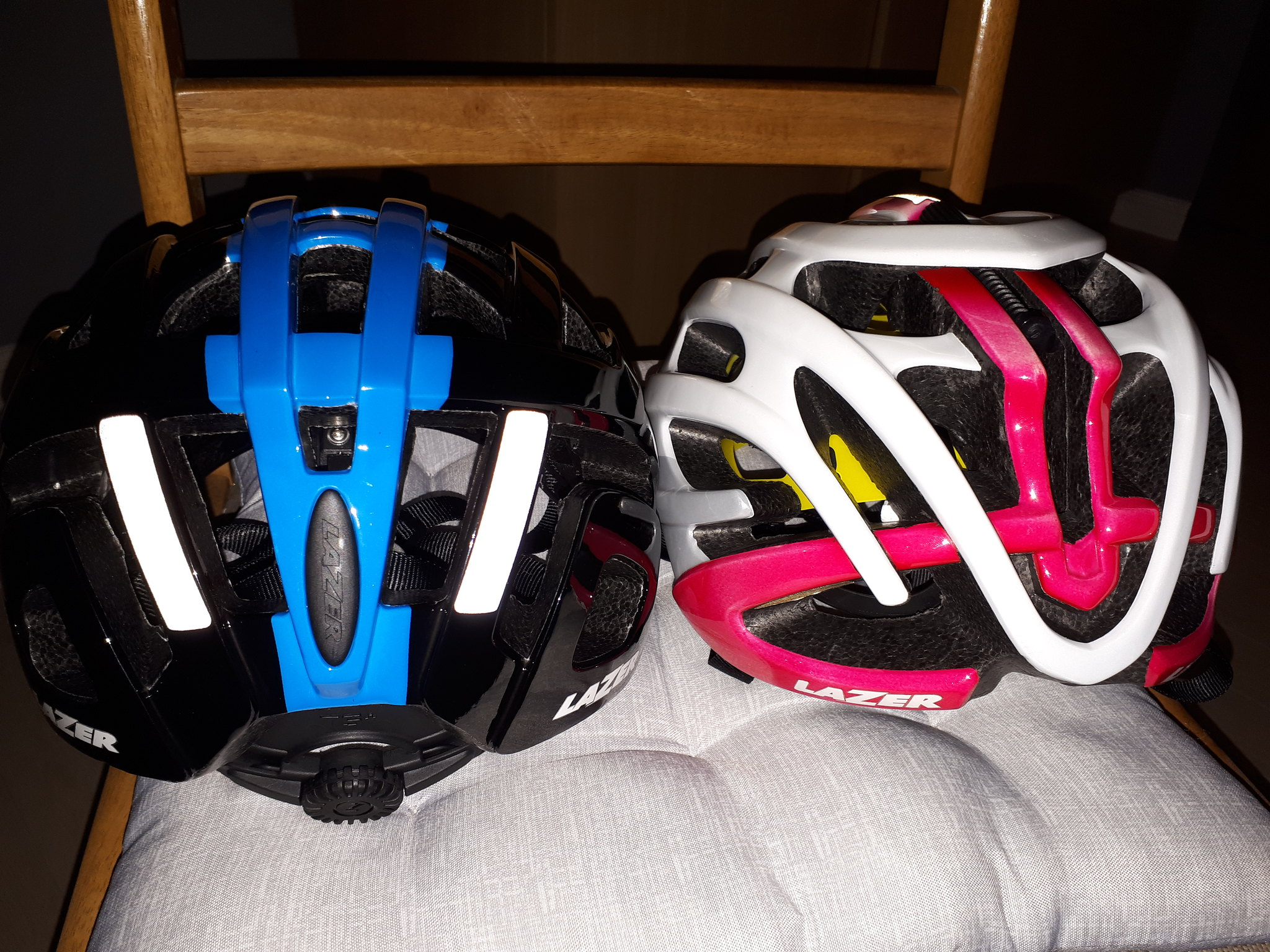 The HALO Reflective Helmet Band is a 1 5/8