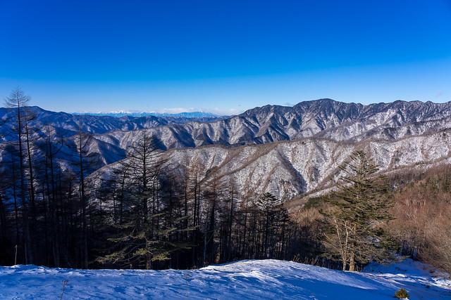 大菩薩嶺・南アルプス・飛龍山