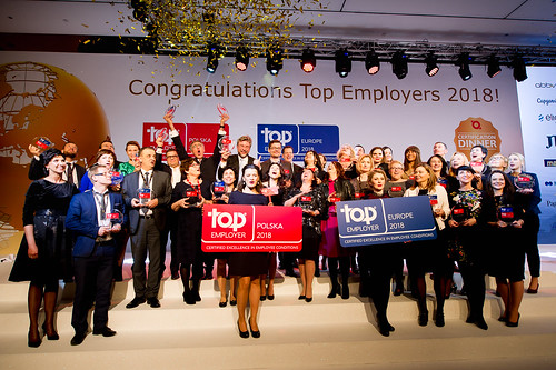 Top Employers Polska Certification Dinner 2018