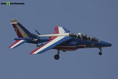 E163 7 F-TERB - E163 - Patrouille de France - French Air Force - Dassault-Dornier Alpha Jet E - RIAT 2013 Fairford - Steven Gray - IMG_9904