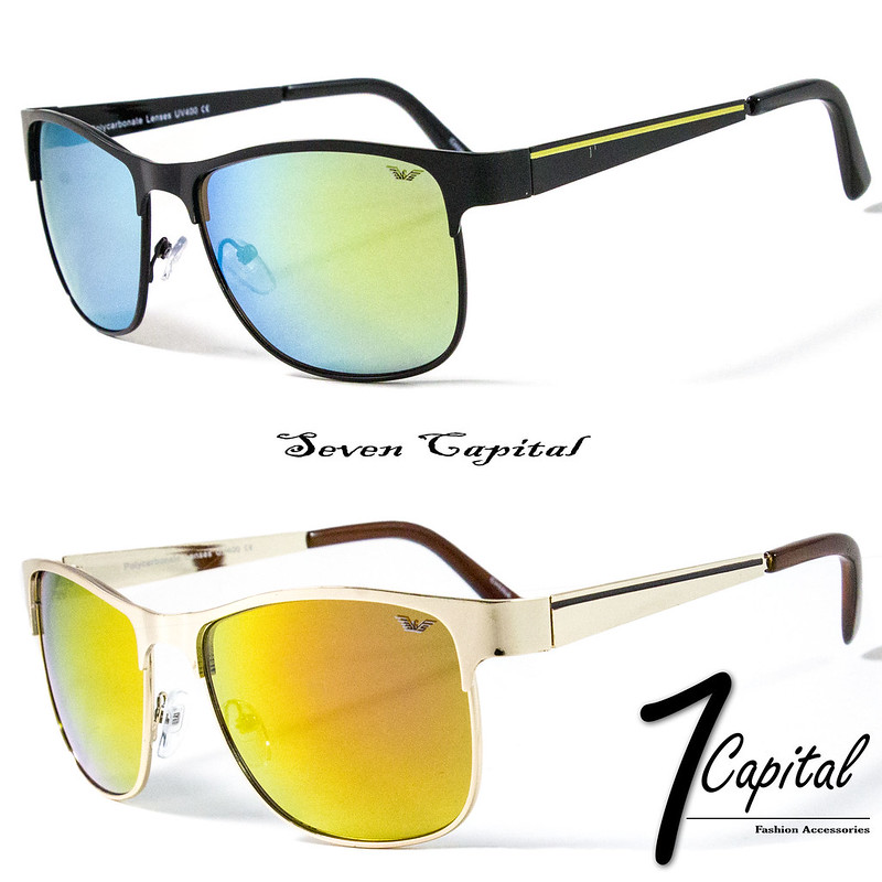 cf84284ab57d Mens Womens Designer Retro Mirror Vintage Metal Frame Aviator Driving  Sunglasses