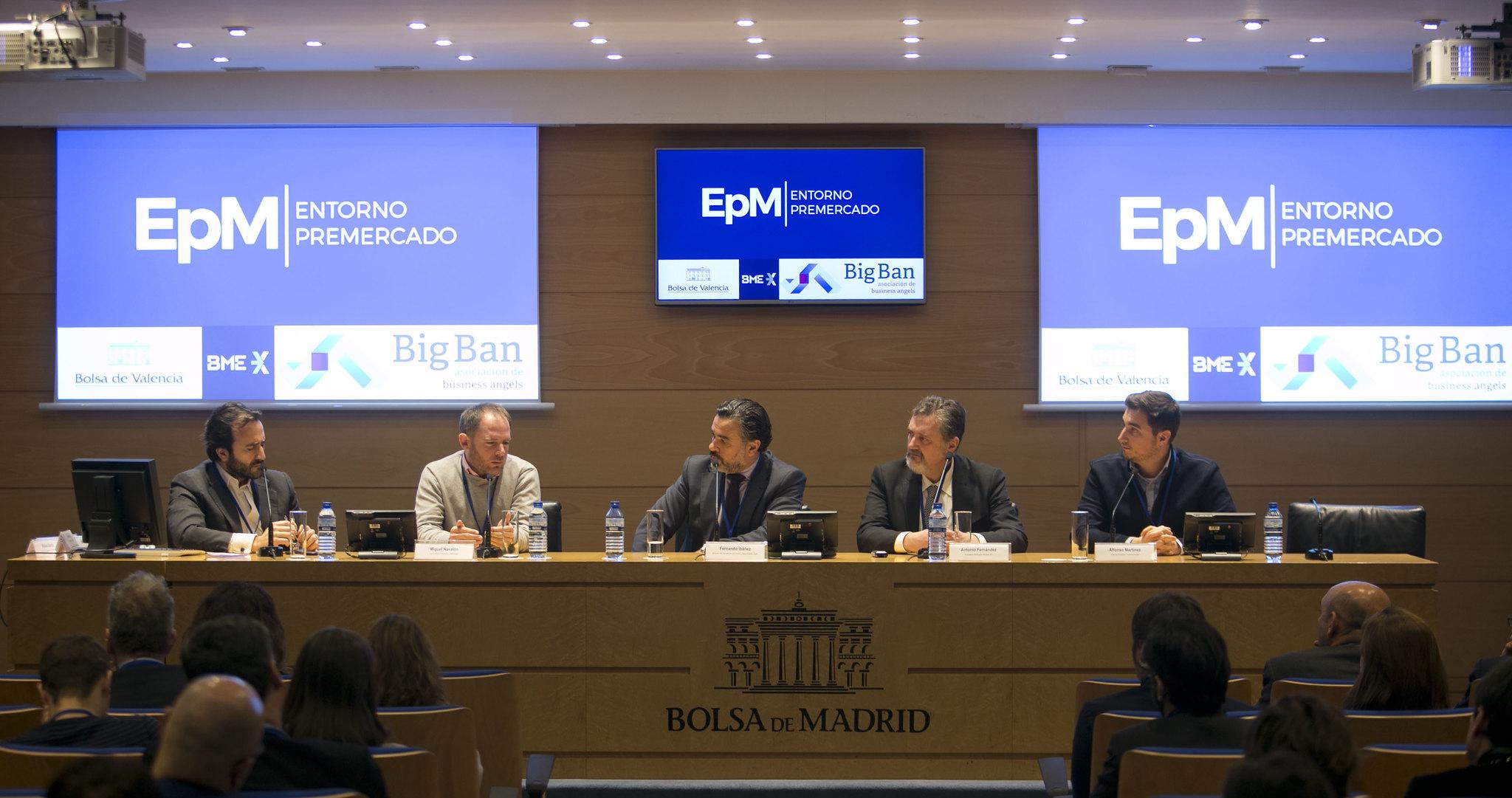 Cuatroochenta en Bolsa de Madrid con Entorno Pre-Mercado