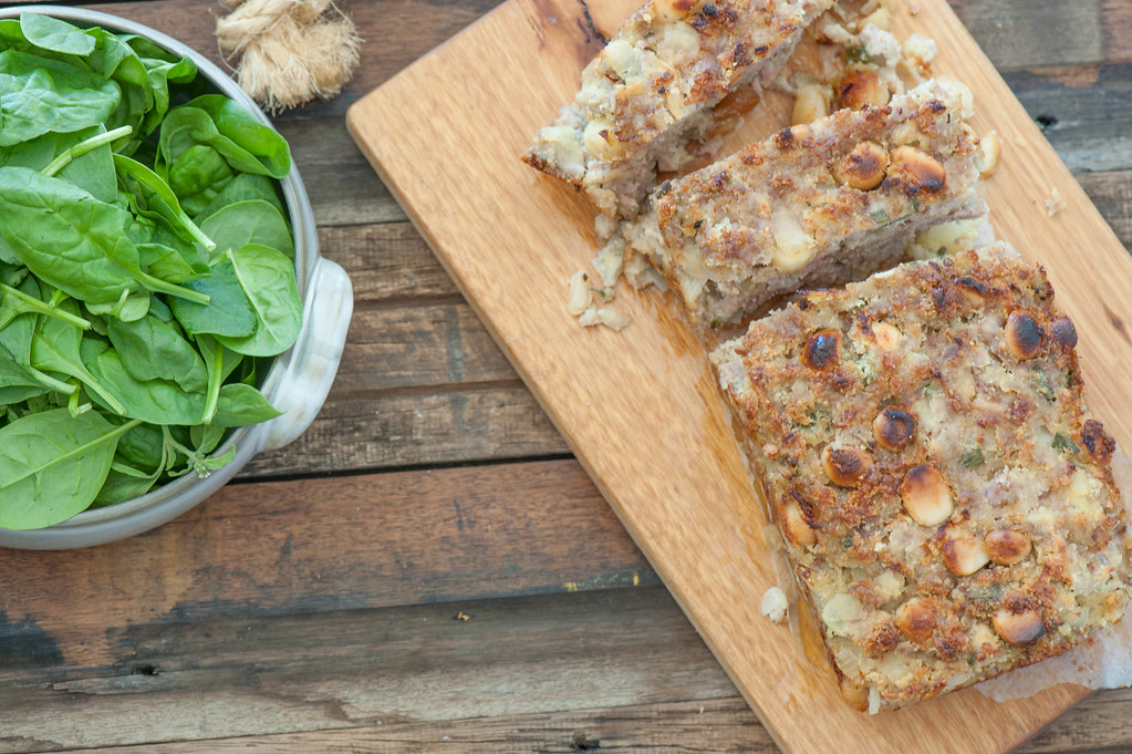 Sausage & Macadamia Stuffing Loaf-2