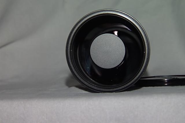 Zuiko 500mm Catadioptric lens