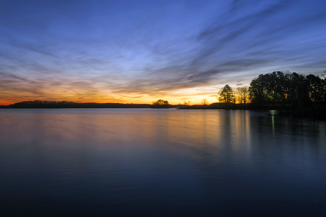 Daybreak at Lake Lanier, RICOH PENTAX K-70, HD PENTAX-DA 21mm F3.2 ED AL Limited