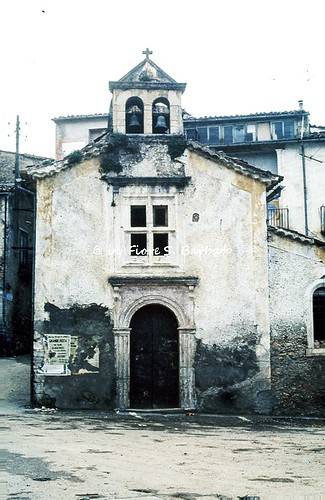 Mendicino (CS), 1975, Chiesa di San Giuseppe.
