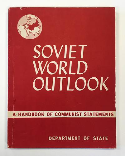 Booklet, Soviet World Outlook, 1959