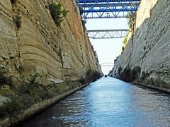 Grèce, Canal de Corinthe