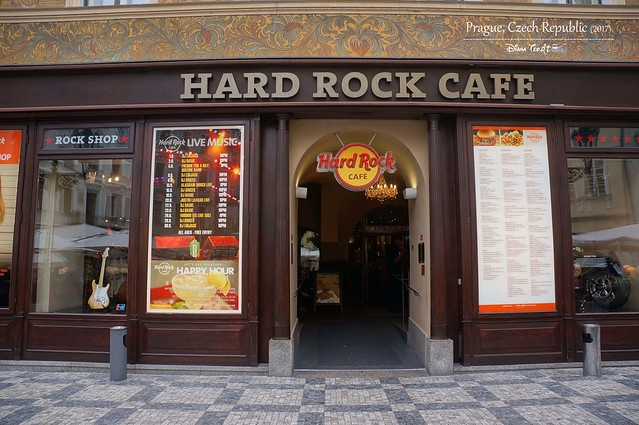 2017 Europe Prague 20 Prague Hard Rock Cafe
