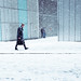 Snow, More London by {Laura McGregor}