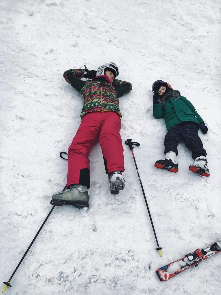 когда накатался на лыжах
