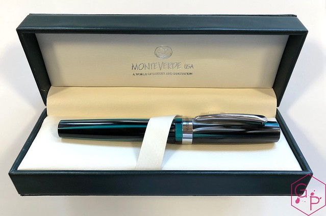 Review @MonteverdePens Giant Sequoia Fountain Pen - Fine @GouletPens @BrianGoulet_ 3