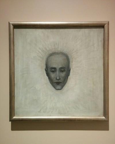 """""""Portrait of Marcel Duchamp"""", around 1920-1925 #toronto #artgalleryofontario #florinestettheimer #stettheimerago #marcelduchamp"""