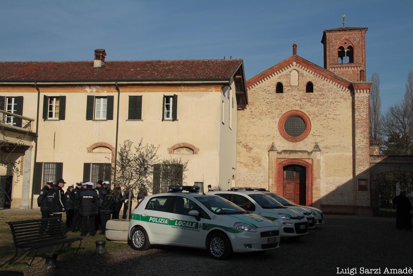 Benedizione alla Polizia Locale per San Sebastiano, suo protettore.
