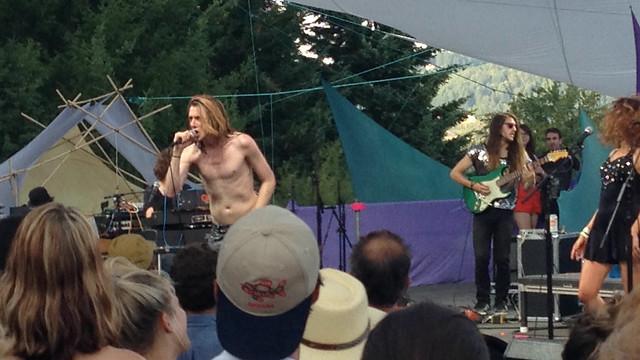 Foxygen @ Pickathon 2014, Pendarvis Farm, Portland, OR, 03 August 2014