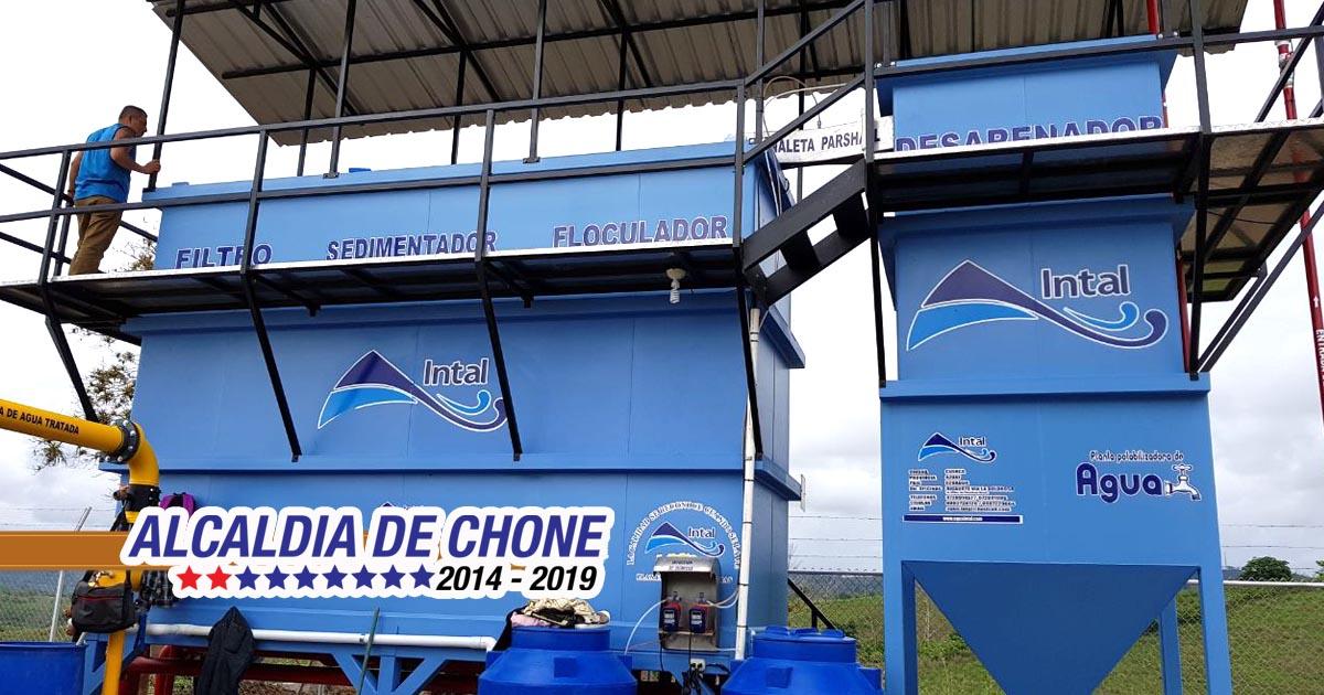 Sistema de agua potable en Eloy Alfaro es una realidad