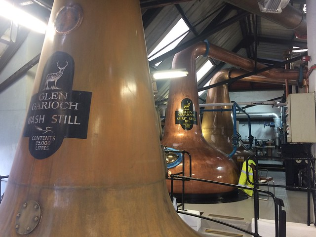 Glen Garioch distillery