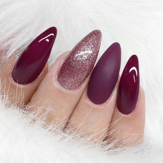 60 Stunning Almond Nails Designs For 2018 Fashionre
