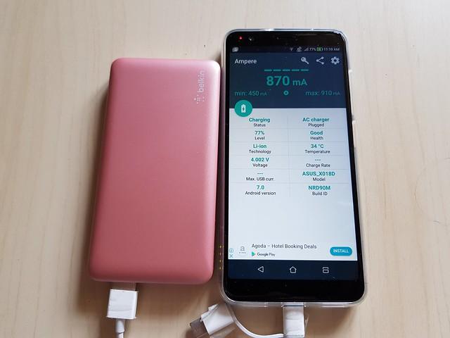 IT Review] Belkin Pocket Power 5K พาวเวอร์แบ้งค์ที่บางแต่