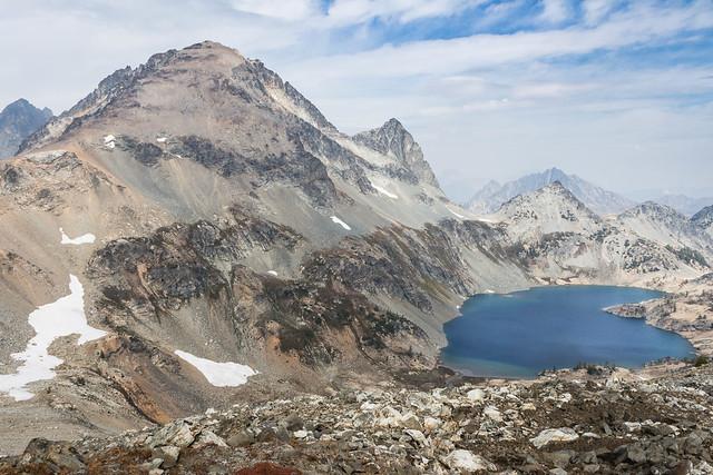 Mount Maude and Upper Ice Lake