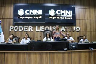 Programa Visite a Câmara - 2ª Edição - Escola Municipal Kerma Moreira Franco