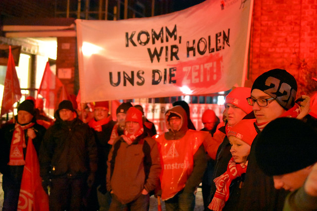 24 Std. Warnstreik 01.02.2018