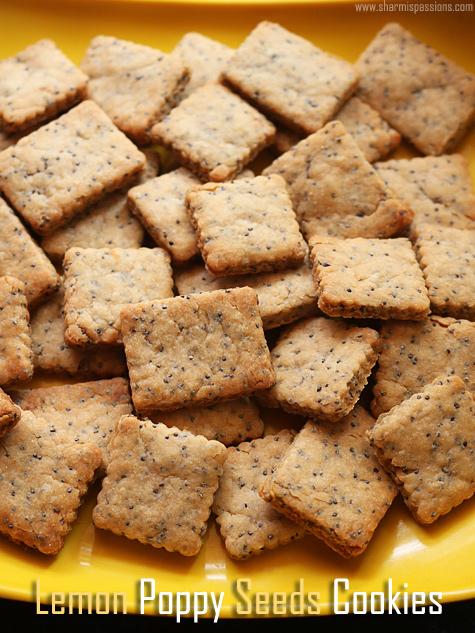 lemon poppy seed cookies recipe