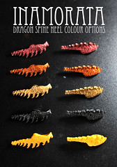 FOR SALE: Inamorata Dragon Spine Heel Colour Options