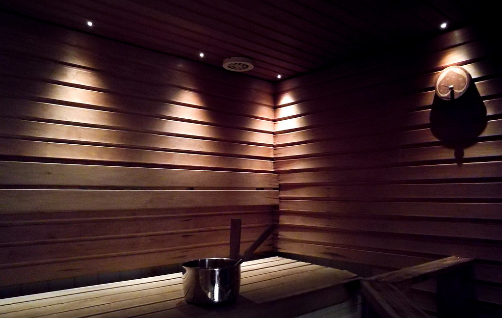 Sauna - the best thing Finland can offer after an outdoorsy day