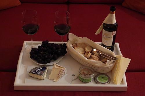 Französisches Picknick (in unserem Wohnzimmer)