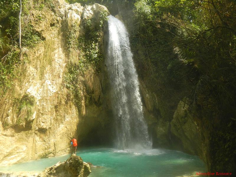 Inambakan Falls, Ginatilan