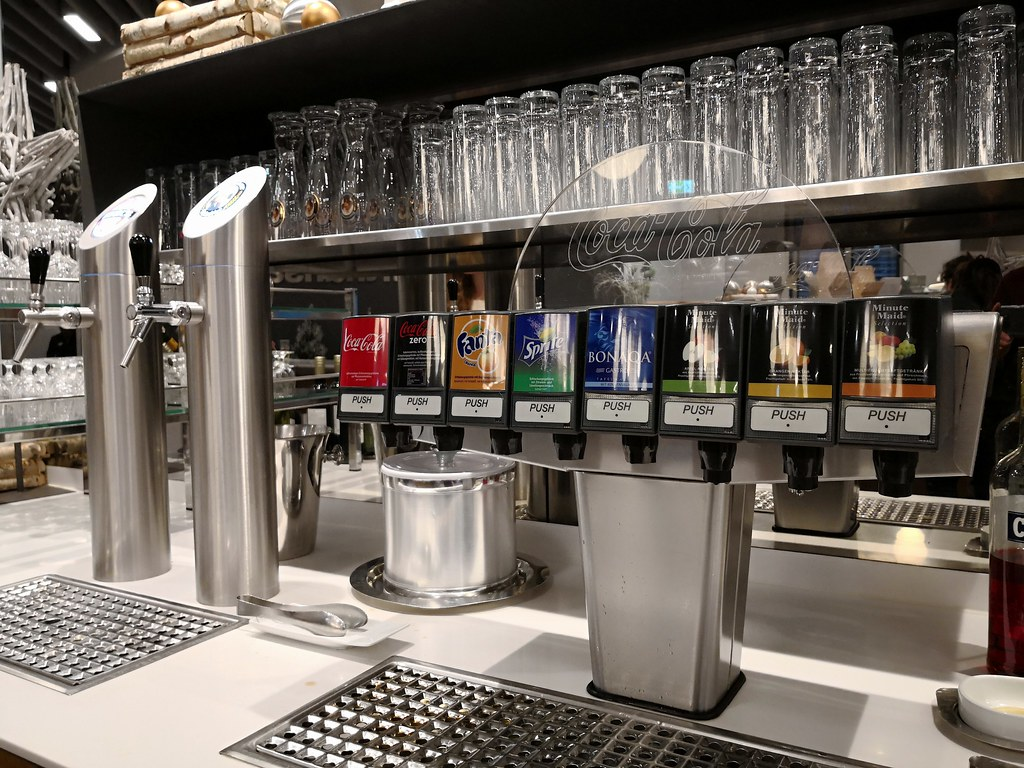 Soft drinks and beer dispenser