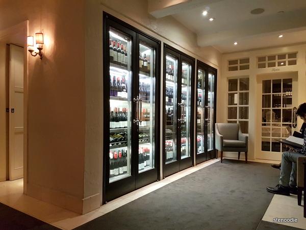 Auberge du Pommier wines