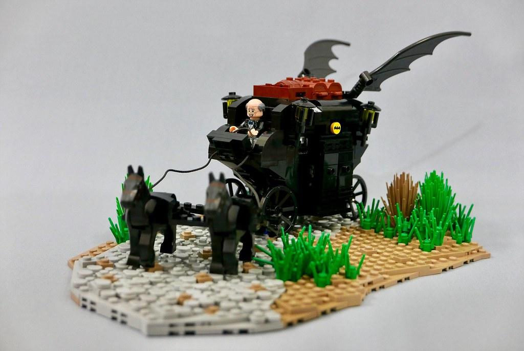 Medieval Batman & Bat Carriage.