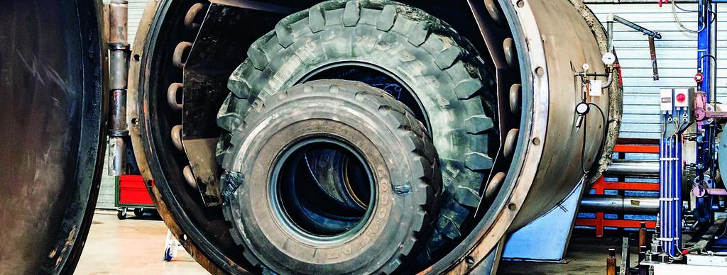 Ремонт крупногабаритной шины