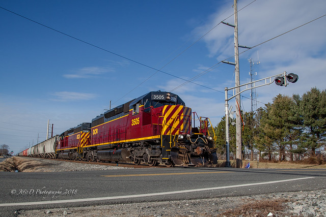 DCR HA-1 @ Hughes Crossing, DE