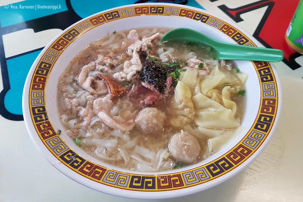 Hill Street Tai Hwa Pork Noodlen ruoka-annos