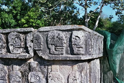 MEXICO (2007) - SITIOS ARQUEOLÓGICOS DE LA PENINSULA DE YUCATAN / CHICHEN ITZA
