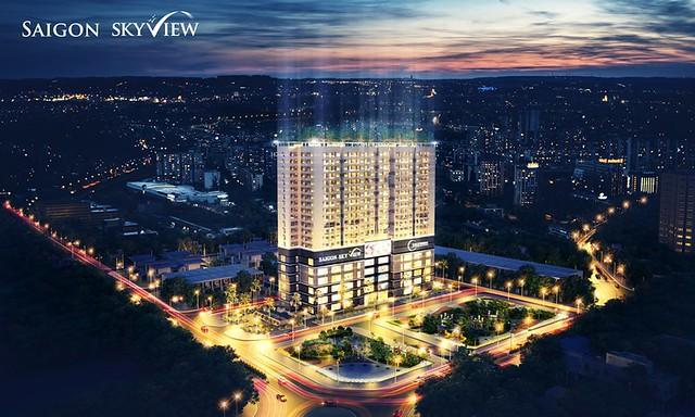 Phoi canh Saigon Skyview