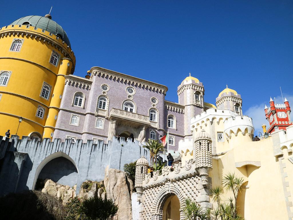 Palacio Nacional da Pena en Sintra, Portugal